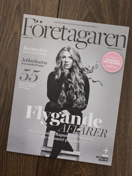 Magazine Cover - Företagaren - Photographer Umeå EmilMedia